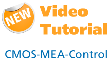 New Video Tutorial about the CMOS-MEA-Control software