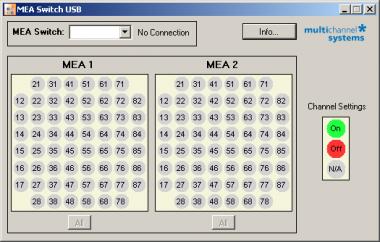 MEA_Switch_USB Main Menu