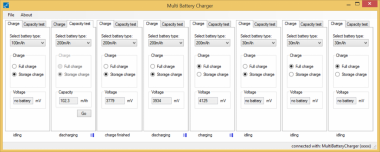 Multi Battery Charger Software