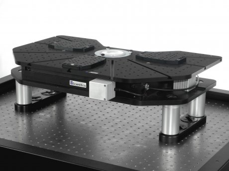 Motorized movable top plate