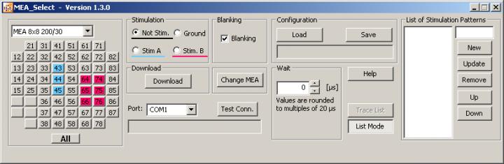 MEA_Select Main Menu