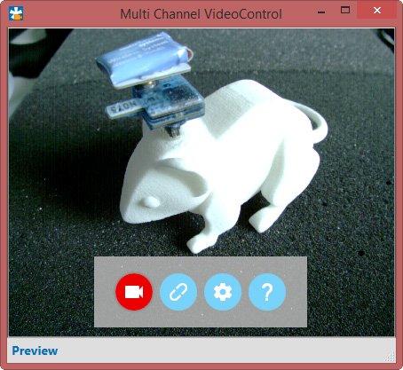 Screenshot Multi Channel VideoControl