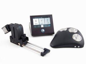 Micromanipulator uMp-3 | 4 with uM-TSC and uM-RW3